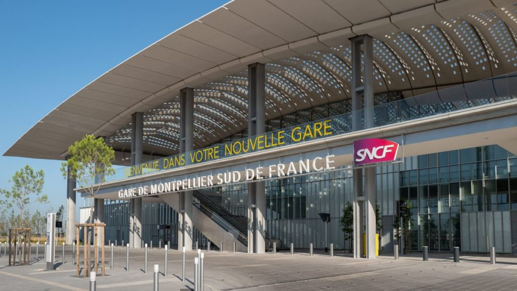 Gare Montpellier Sud de France