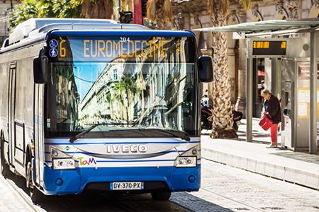Bus de la TAM de Montpellier