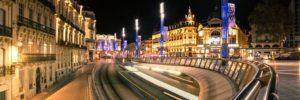 Vidéo : Montpellier vu de nuit, à vélo, pendant le confinement