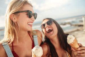Où manger des glaces en bord de mer à Montpellier ?