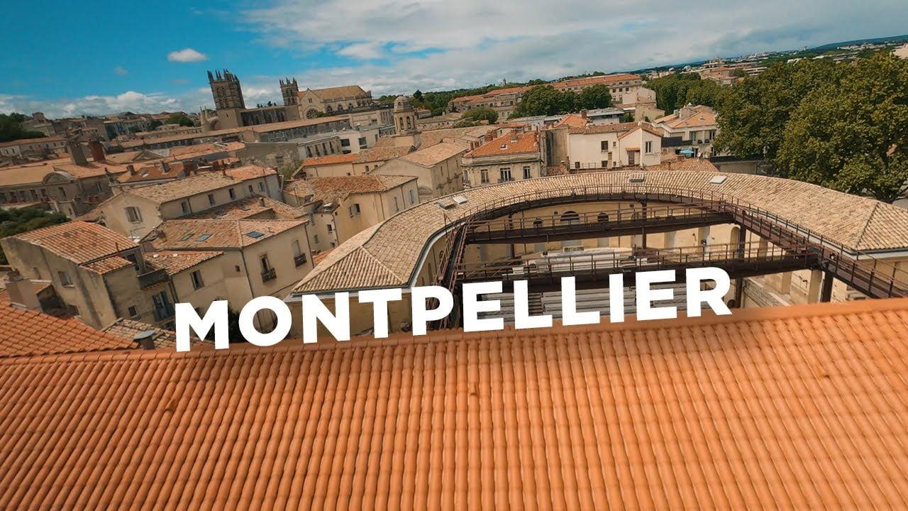 Vidéo : La ville de Montpellier vu par Drone