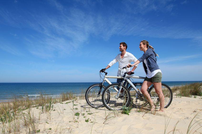 Comment aller à la plage en vélo depuis Montpellier