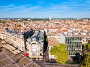 Reprise des visites guidées de Montpellier