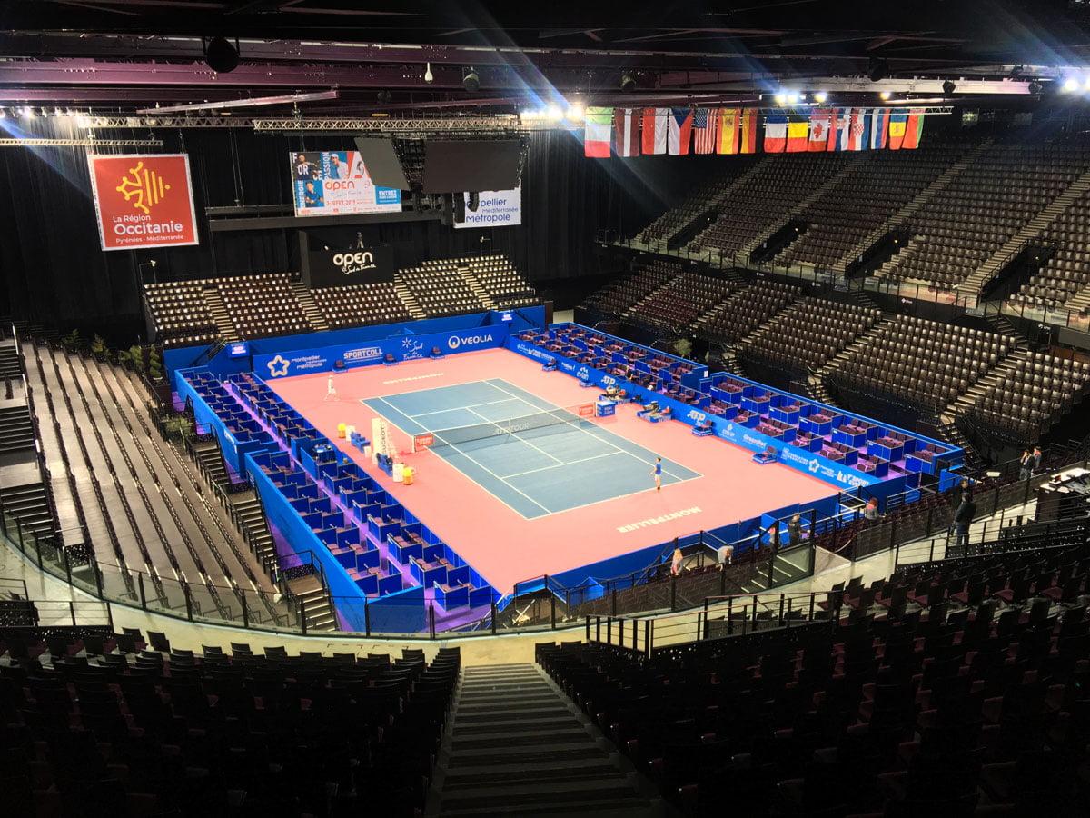 Read more about the article Tennis : la liste des joueurs présents à L'Open sud de France