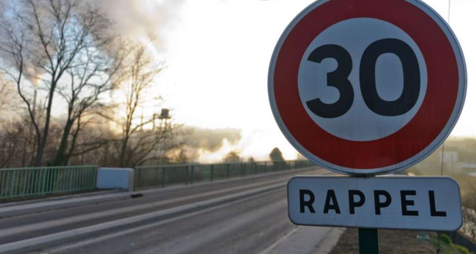 La vitesse bientôt limitée à 30 km/h à Montpellier !