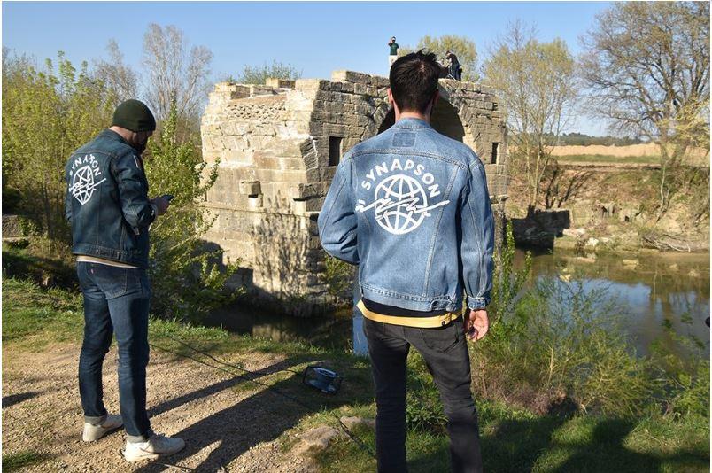Lunel : Synapson a mixé sur le pont Romain
